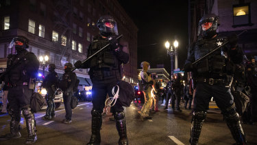 A riot was declared in Portland, Oregon, and protesters took to the streets in Seattle demanding that every vote be counted.