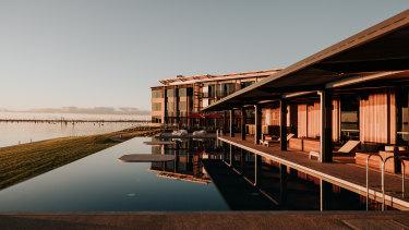 The new $35 million Sebel Yarrawonga is by Peter Bozzo's Lotus Living development company.