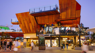 Yagan Square was bereft of energy and soul as retail outlets and workers returned to the CBD last week.