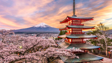 Greg and Cheryl Doyle booked a 20-day trip to Japan in September 2019 but it was called off in March last year.