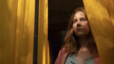 Amy Adams plays Dr Anna Fox in The Woman in the Window.