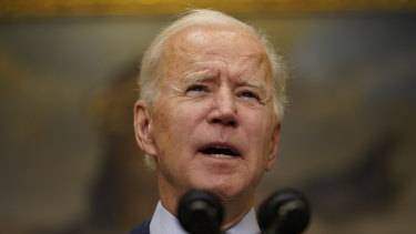 US President Joe Biden: less trusted on China.