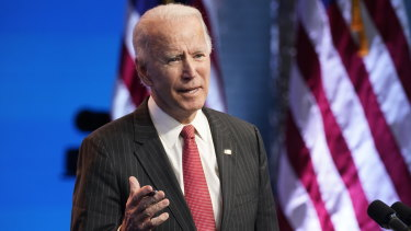 President-elect Biden has made clear his determination to put the fight against climate change at the centre of his domestic agenda.