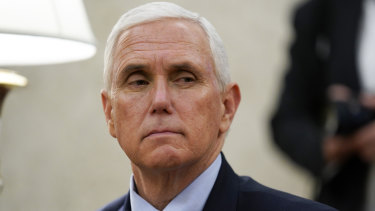 A member of Vice President Mike Pence's staff has tested positive for COVID-19.