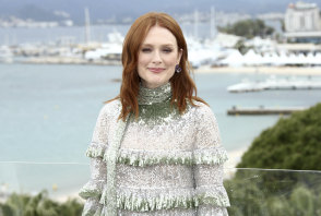 Julianne Moore at Cannes.