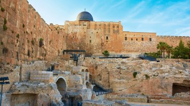 Jerusalem, a city that bears down on its inhabitants with the weight of millennia.