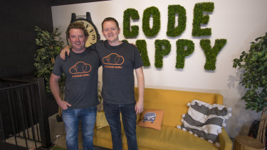 Brothers Ryan and Sam Kroonenburg have grown a global online learning business from Australia.