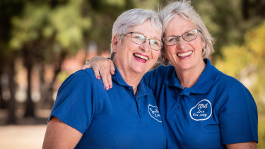 Sisters Patty Powell and  Eileen Giles have received Medals of the Order of Australia for their charity work in Western Australia.