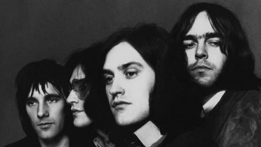 The Kinks pictured in 1970, the year Lola was released.