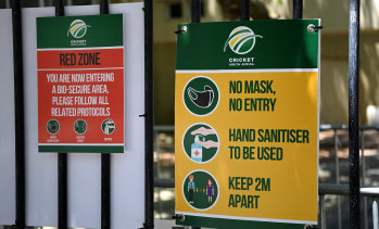 South Africa's biosecurity bubble is under the microscope.