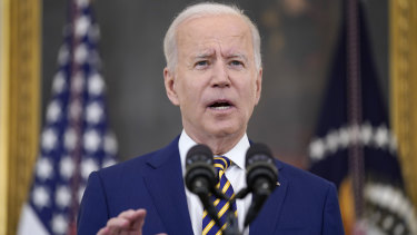 """Earlier in the month Joe Biden had designated June a """"national month of action"""" on vaccines."""