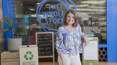 Tracey Bailey, from Biome, said  the plastic bag ban has made Queenslanders think about composting their waste.