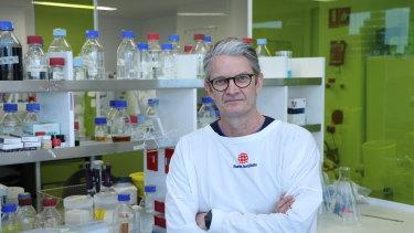 Professor Brendan Crabb, director of the Burnet Institute in Melbourne.
