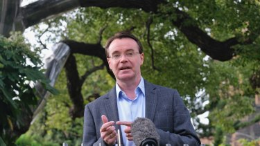Liberal leader Michael O'Brien has been a loud critic of the Andrews government during the pandemic.
