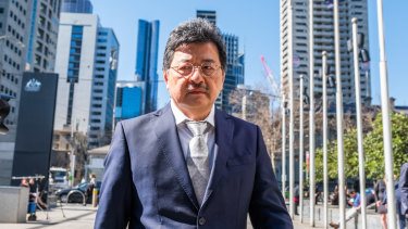 TPG boss David Teoh says he remains hopeful the Federal Court will rule in favour of the merger with Vodafone.
