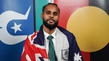 Indigenous basketballer Patty Mills is the captain of the  Boomers.