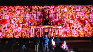 Organisers say numbers were up for this year's White Night festival that was held over three nights.