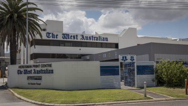 WA's only daily newspaper has been targeted by hackers.