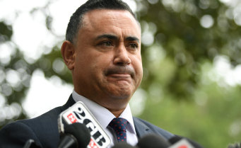 John Barilaro wanted the Nationals to contest the seat, not the Liberals.