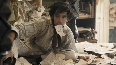Dev Patel plays the titular role in The Personal History of David Copperfield.