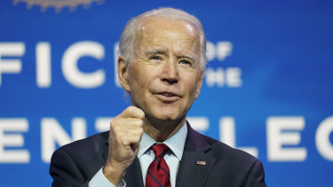 Joe Biden is set to be elected president by the US Electoral College on Monday.