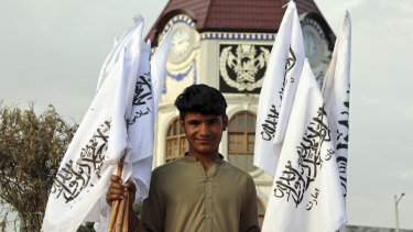 At issue: whether or not to fly the Taliban flag.