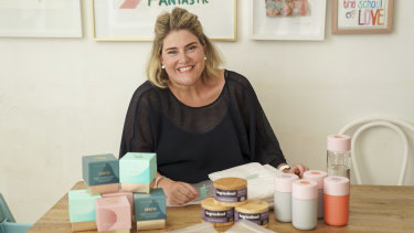 Sally Branson Dalwood has put all her savings into her startup the Suite Set.