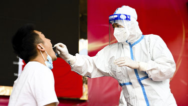 The ongoing uncertainty of the pandemic weighs over China's economy.