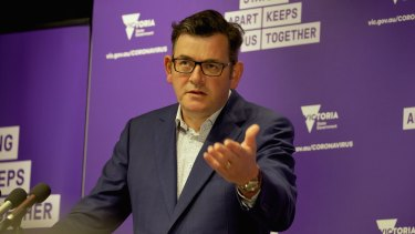 Victorian Premier Daniel Andrews concedes lockdown fatigue is a concern.
