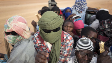 Migrants from across sub-Saharan African - Mali, the Gambia, Guinea, Ivory Coast, Niger and more - are part of the mass migration toward Europe, some fleeing violence, others just hoping to make a living.
