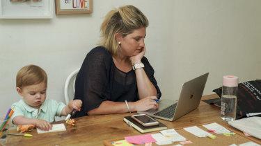 Sally Branson Dalwood's biggest challenge was finding a manufacturer.