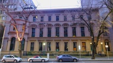 The Melbourne Club.