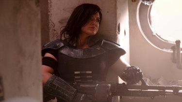 Cara Dune (Gina Carano) in The Mandalorian.