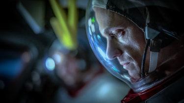 Joel Kinnaman as Ed Baldwin in For All Mankind.