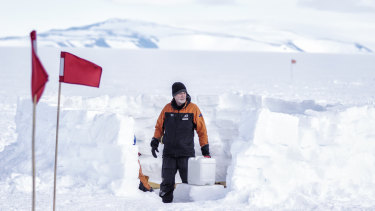 Former special forces soldier Sean McBride was studying evolution anthropology in Antarctica when he realised he wanted to help men through depression.
