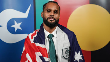 Boomers captain Patty Mills will carry the Australian flag at the Games' opening ceremony.