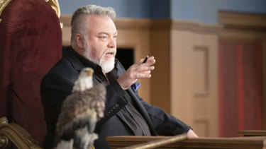KIIS FM's Kyle Sandilands plays judge in Trial By Kyle.