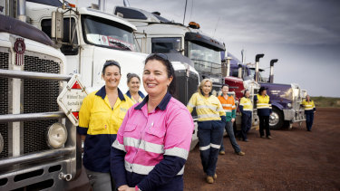 Director Kristina Kraskov highlights the many challenges women drivers face in Heavy Haulage Girls.