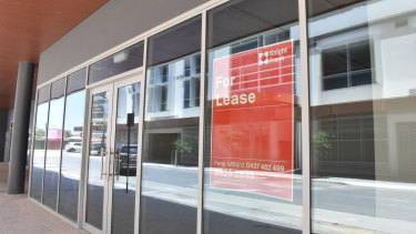 South Perth now has a glut of vacant office spaces and apartments in the completed mixed-use developments.
