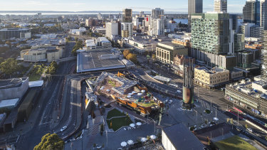 A site near Yagan Square has been earmarked as the potential location for an inner-city university campus.