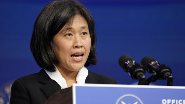 Katherine Tai unveiled the White House's approach to trade with China in Washington this week.