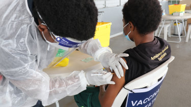 Vaccination rates in PNG are among the world's lowest.
