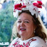 Billionaire Gina Rinehart.