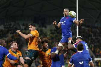 Even a one-point defeat to France on Saturday will see the Wallabies slip to No.8 in the world.