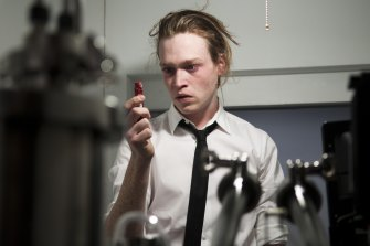 American actor Caleb Landry Jones, seen here in Antiviral (2012), has been cast as the lead character in Nitram.