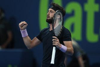 Federer lost to Nikoloz Basilashvili in the quarter-finals of the Qatar Open.