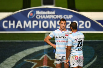 Juan Imhoff played a Champions Cup final with Racing 92 just last month alongside Kurtley Beale.
