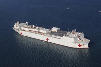 The USNS Comfort will be deployed to New York Harbour ahead of the expected surge in coronavirus cases there.