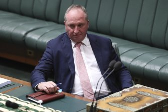 Deputy Prime Minister Barnaby Joyce left out contract airport workers in regional areas from the rescue package.