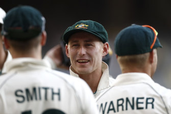 Marnus Labuschagne has cemented his spot at first drop.